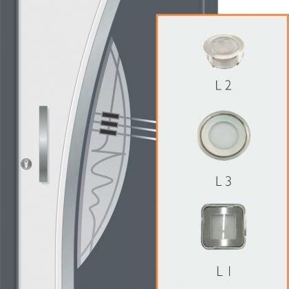 LED lucke